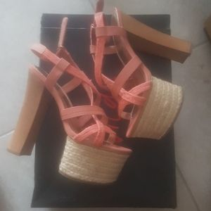 Bakers ~ High Platform Heel Shoes